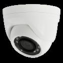 Telecamera dome Gamma 5Mpx PRO 4 in 1 HDTVI HDCVI AHD CVBS IP66 Lente 3.6 mm LED