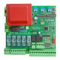 Centrale Universale per CANCELLI Automatici BATTENTI A 1 o 2 Ante Came BFT Nice ECC. centralina scheda cancello di comando auto