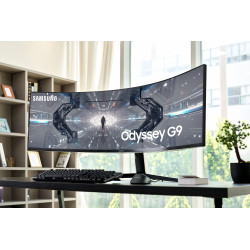 Samsung Curved Monitor...