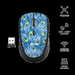 Mouse wireless Blu Trust...
